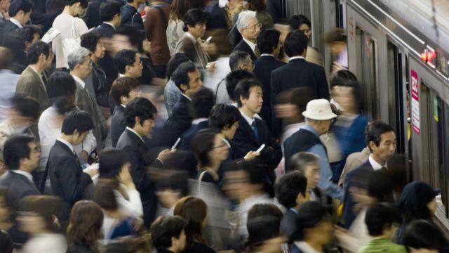Gente en Asia