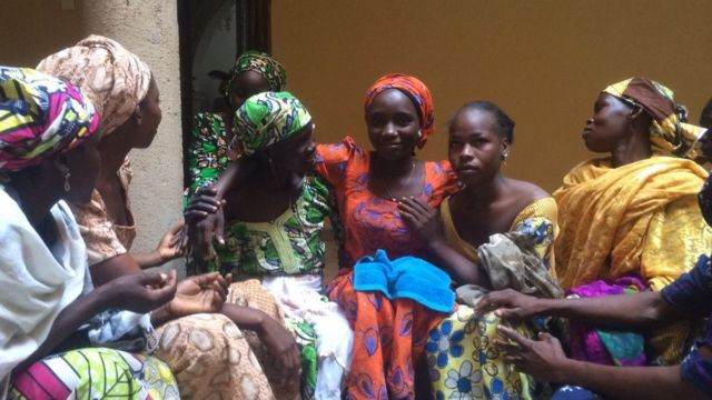 Iyayen 'yan matan Chibok sun koka da ziyarar da 'yayansu suka kai musu