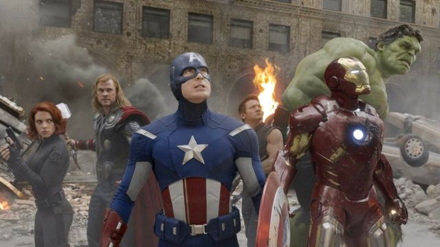 A scene from Avengers Assemble