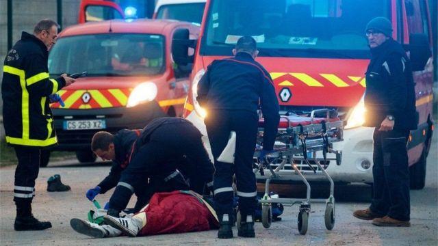 Перестрелка в Кале: пострадали 5 мигрантов