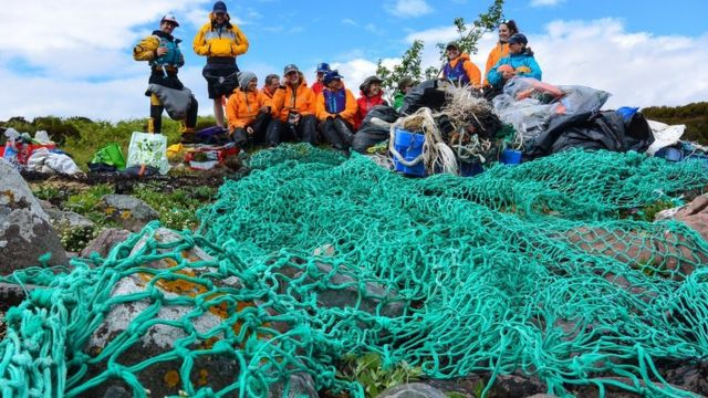 Tonnes of rubbish cleared from Summer Isles in Highlands