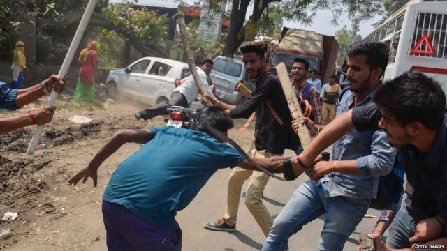 दलित, हिंसा, प्रदर्शन, भारत बंद