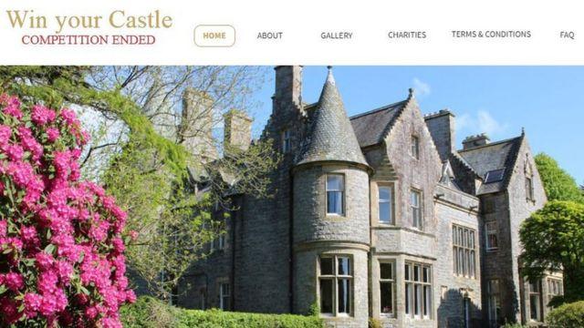 Orchardton Castle owner's £5 raffle 'unfair'