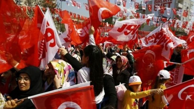 Mitingi muri Istambul