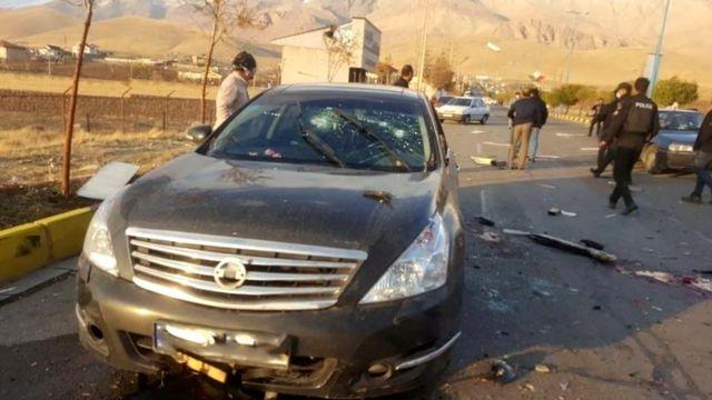 خودرو محسن فخریزاده