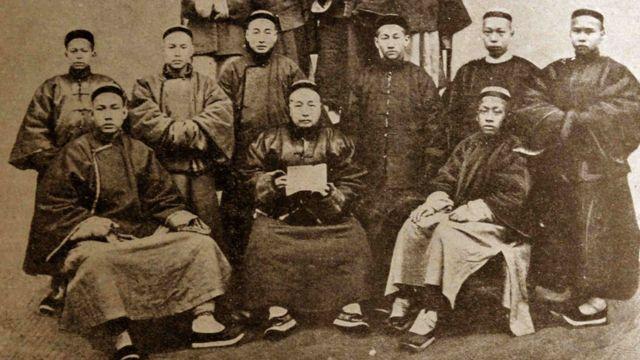 晚清时期衙门职员(约1880年)
