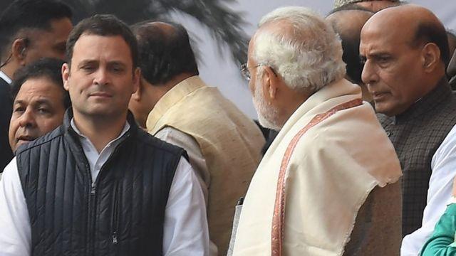 राहुल गांधी- नरेंद्र मोदी
