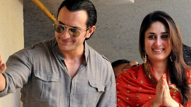 کرینا کپور و سیف علی خان