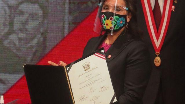 Dina Boluarte, vicepresidenta de Perú