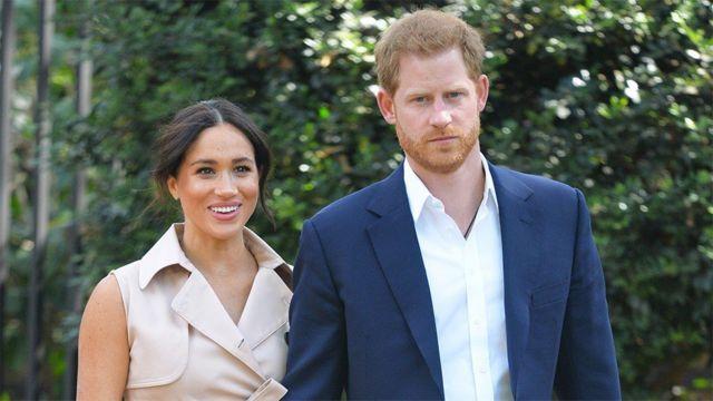 Pangeran Harry dan Meghan
