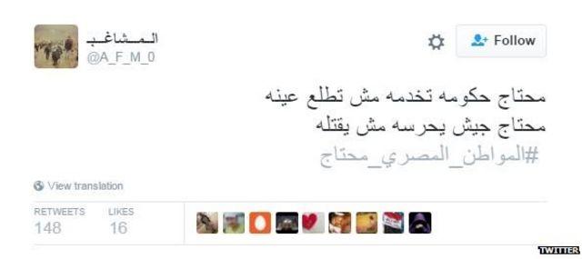 Egypt trend