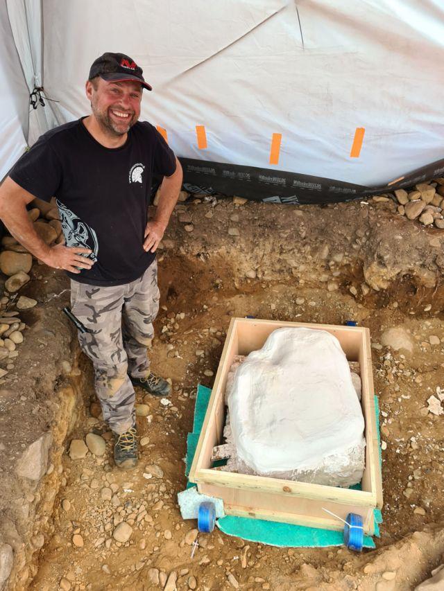 Мариуш Степин нашел клад в июне