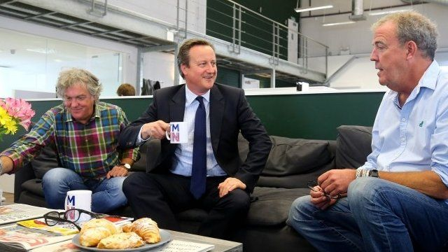 Cameron, Clarkson and May