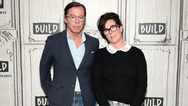 アンディ・スペードさんとケイトさんは1994年に結婚した