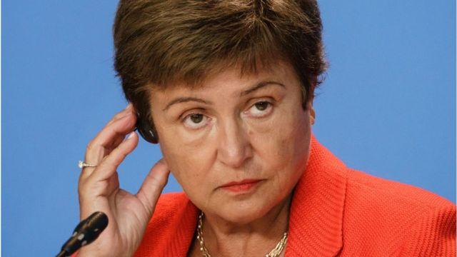 Managing Director of the International Monetary Fund (IMF) Kristalina Georgieva
