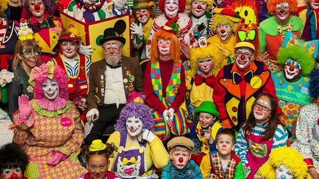 Clown convention