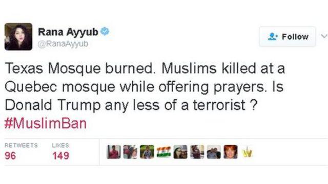 كيف تفاعل مغردون مع الهجوم على مسجد في #كندا؟