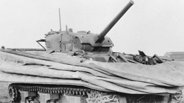 Un Sherman DD