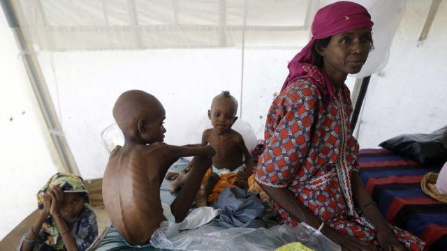 الأطفال في شمال شرق نيجيريا