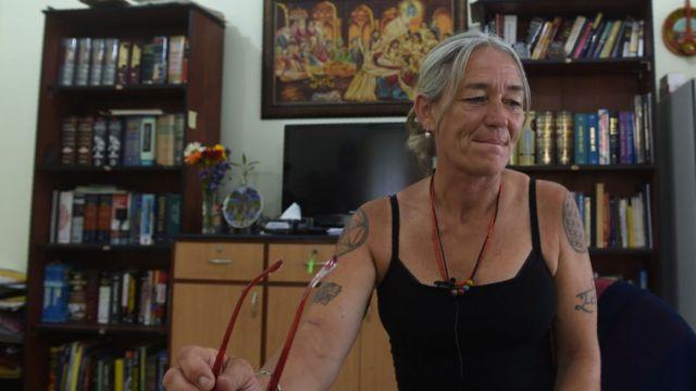 Fiona MacKeown, mother of murdered Briti