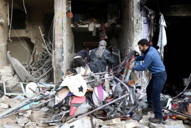 La provinica de Idlib ha sido golpeada por los bombardeos de la aviación rusa.