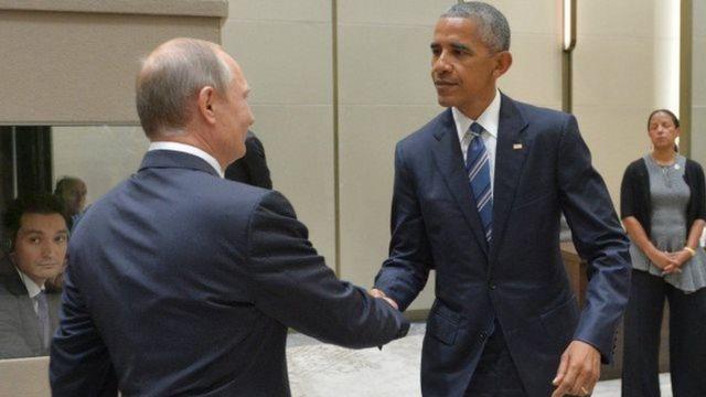 Putin və Obama
