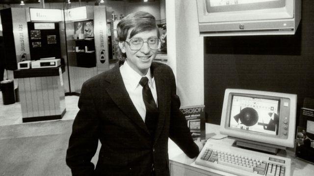 Bill Gates en 1985