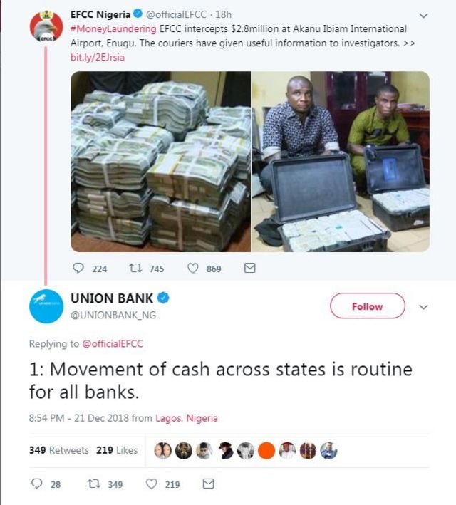 Ihe Union Bank dere