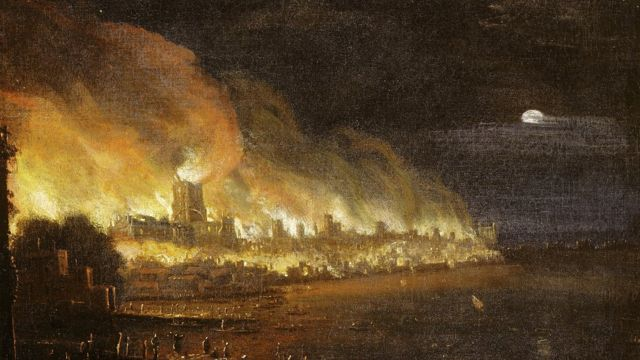 Gran Incendio de Londres.