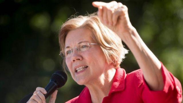 Senator AS Elizabeth Warren