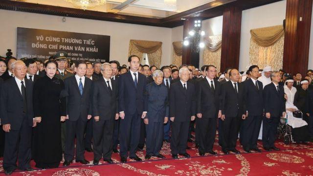 Quốc tang nguyên Thủ tướng Phan Văn Khải diễn ra từ ngày 20/3 đến hết ngày 21/3