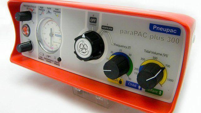 ParaPac ventilator