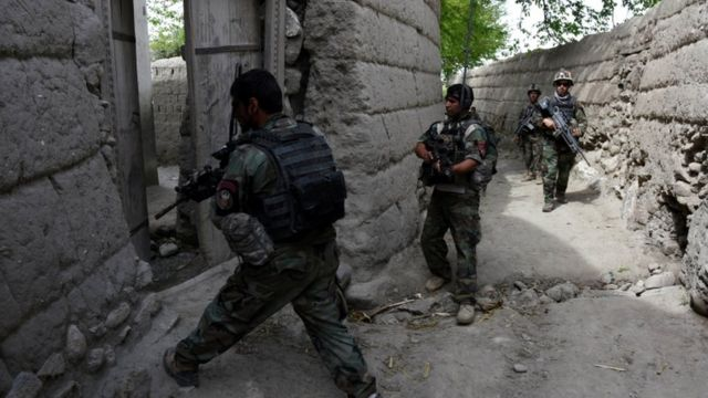 Afghan forces have been targeting IS in Nangarhar for two weeks
