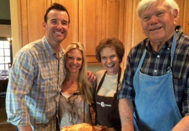 John Corcoran e sua família