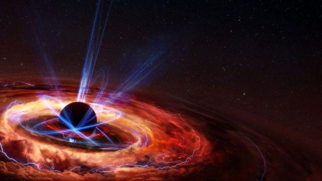 Nobel de Física: qué es la singularidad, el corazón de los agujeros negros  donde se rompen todas las leyes conocidas de la naturaleza - BBC News Mundo