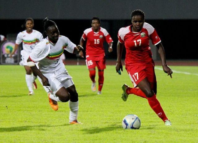 Kenya yatsinzwe 3-1 na Mali na Ghana