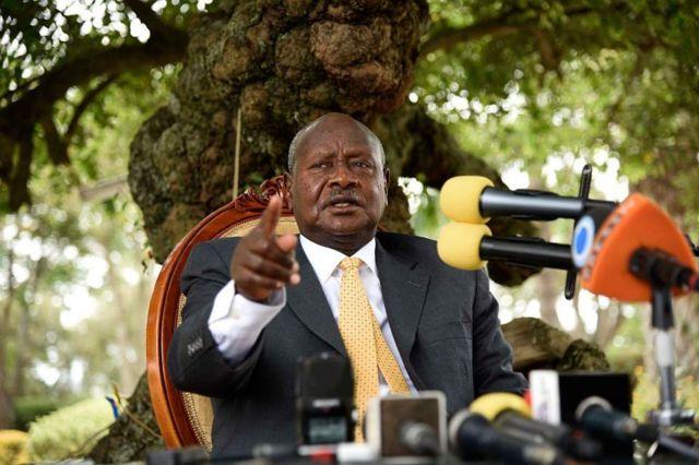 Prezida Yoweli Museveni