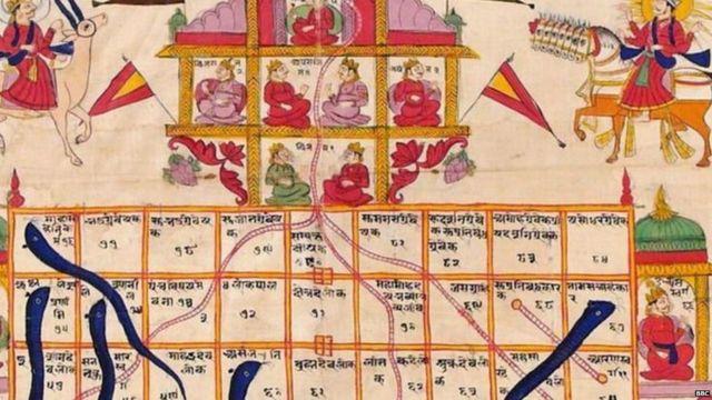 साप-शिडीच्या खेळामागे हिंदू मुलांना नैतिकमूल्य शिकवण्याचा उद्देश होता, असं सांगितलं जातं.