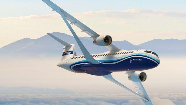 Asa reforçada da Boeing