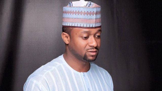 Ahmed Buhari wani matashi da ke takara