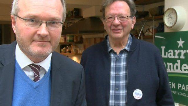Peter Henley and Larry Sanders