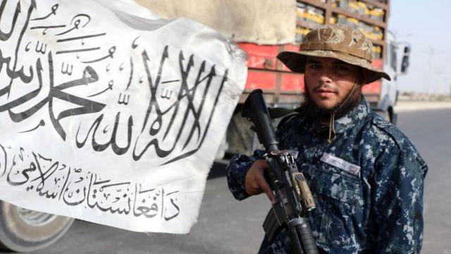 أحد عناصر طالبان