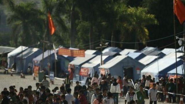 တရုတ်နယ်စပ် ဒုက္ခသည်