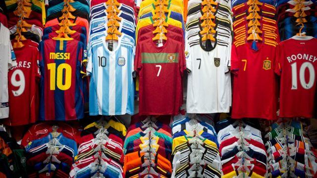 Camisas de fútbol