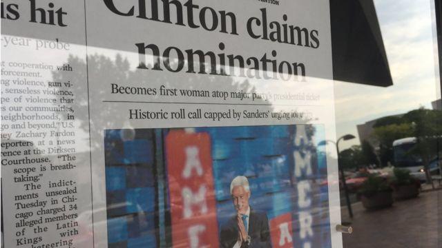 Chicago Tribune, 27 Temmuz manşeti