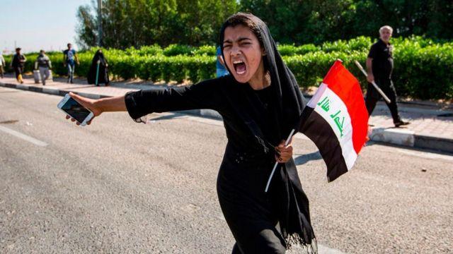 Protes di Irak