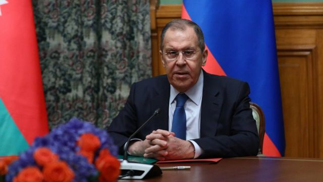 Ateşkes açıklamasını görüşmelere aracılık eden Rusya Dışişleri Bakanı Sergey Lavrov yaptı.
