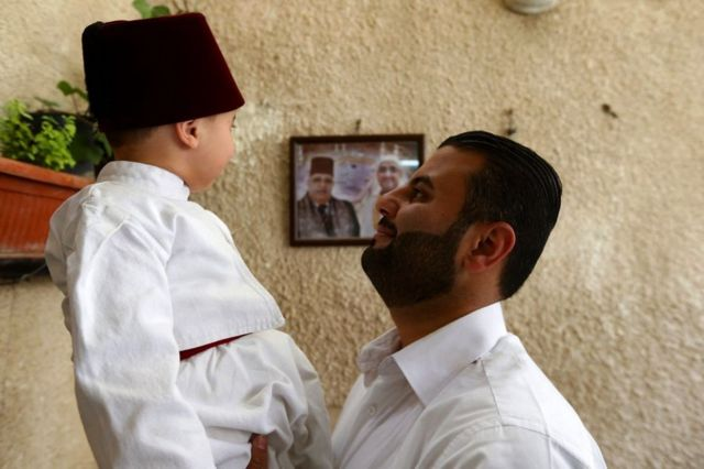 أصغر درويش صوفي في سوريا