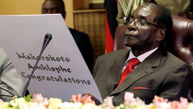 رابرت موگابه، رئیس جمهور زیمبابوه