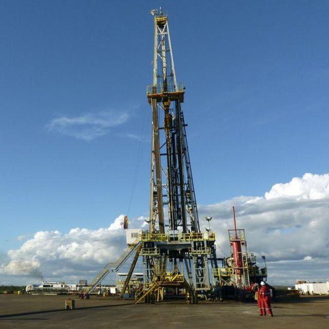Instalaciones petroleras en Venezuela.